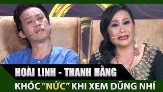 Thanh Hằng, Hoài Linh khóc nức nở khi xem Hồng Trang, Hoàng Dững biểu diễn