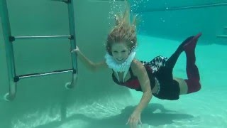 @TRINAMASON CLOTHED UNDERWATER FILMED BY SKY CAPTAIN GANNON