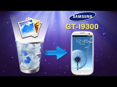 How to recover deleted files from samsung galaxy s3 without rooting