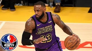 LeBron James goes off for 44 points, becomes NBA