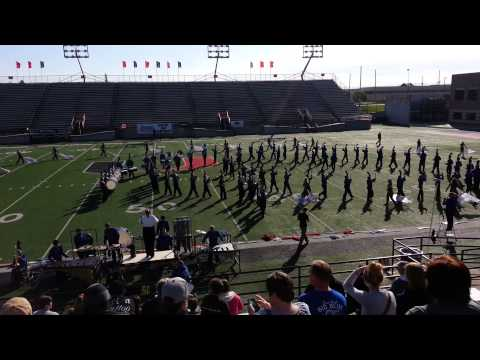 Enid High School Big Blue Band at Renegade Review Tulsa 2013