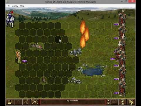 The Power of Luna 2 - 1 Pixie vs. 9 Nix Warriors (Heroes 3)