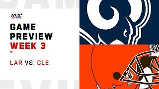 Los Angeles Rams vs. Cleveland Browns Week 3 Game Preview