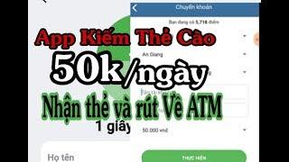 Kiếm Tiền Online Rút Tiền Mặt Thẻ Cào Uy Tín.  Rút Về ATM min Rút Chỉ 50k.  Cực Ngon
