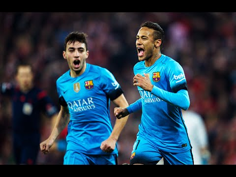 GOALS | ATHLETIC BILBAO 1 vs 2 BARCELONA | 20/01/2016