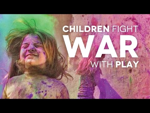 Syrian Children Fight War with Play | Exchange for Views Group Will Donate Futbol Field