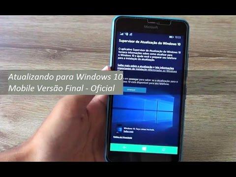 Como Atualizar o Windows Phone 8.1 para Windows 10 Mobile - Versão Final e Oficial
