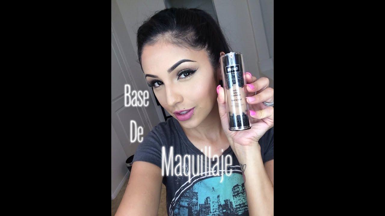 Base de maquillaje/Kat Von D - YouTube