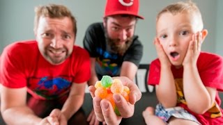 5 YEAR OLD TRIES WORLD'S SOUREST CANDY! | BARNETTS