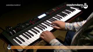 Korg Kross Synthesizer | Sounddemo