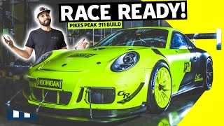 Finishing a Twin Turbo Porsche Pikes Peak Build in Record Time: Will We Make it to the Race??