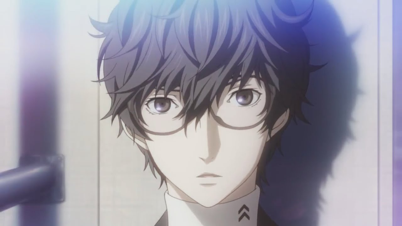 Protagonist Persona 5 Persona 5 Trailer Protagonist
