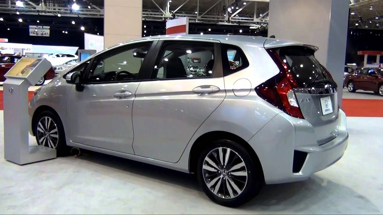 The 2015 honda fit from the cleveland auto show youtube for Honda fit enter code