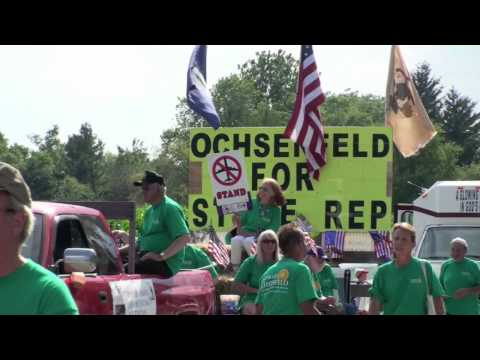 George Ochsenfeld at Beecher Independence Day Parade