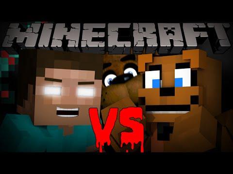 Herobrine vs Freddy Fazbear