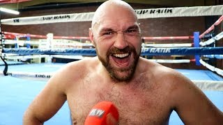 'I HAVE 3 FIGHTS LEFT - WILDER, JOSHUA, WHYTE!' - TYSON FURY / TALKS BEN DAVISON SPLIT & SLAMS USYK