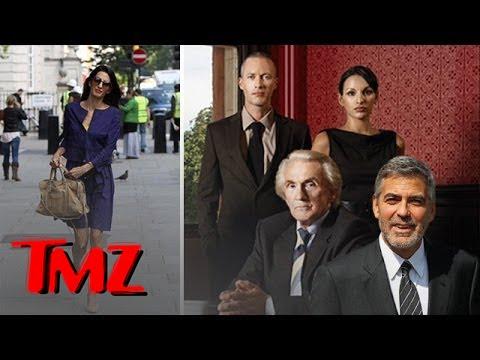 George Clooney's Fiancee' -- Workin' It!