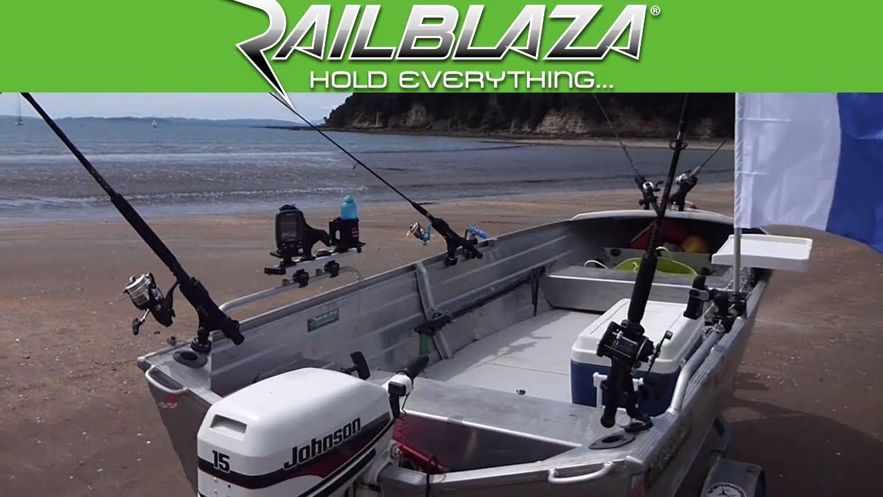 Fishing Tinny Accessories Amp Mounts From Railblaza Youtube