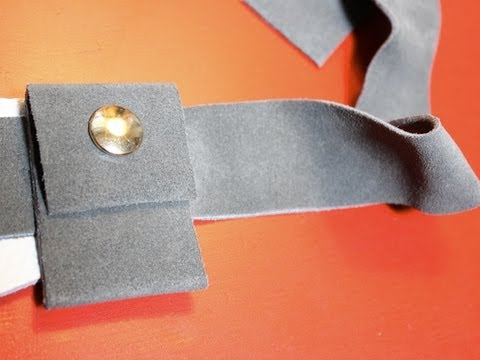 How-to Make a Leather Holster