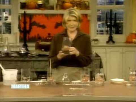 Martha Stewart Makes Halloween Specimen Jars with Encapso K