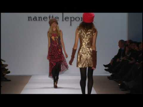 Nanette Lepore 2009 Fall Collection (Part 2) Video