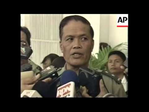 PHILIPPINES: HOSTAGE SITUATION - MALAYSIAN REPRESENTATIVE