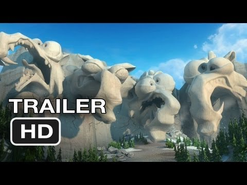 Ice Age: Continental Drift (Movie Trailer) (Starring Voices From Nicki Minaj & Drake)