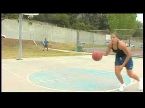 Woman's Basketball Passing Tips   Cross Over Dribbling In Basketball