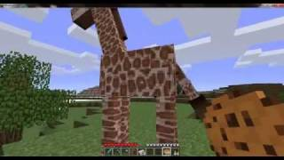 Minecraft:How to tame a Giraffe