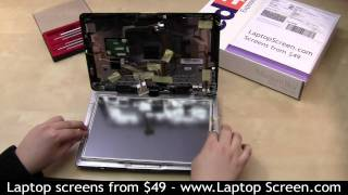 Laptop screen repair, touch screen repair [HP TX2500]