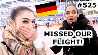 BUS TOUR, CHOCOVERSUM, MISSED OUR FLIGHT | HAMBURG DAY 525 | TRAVEL VLOG IV