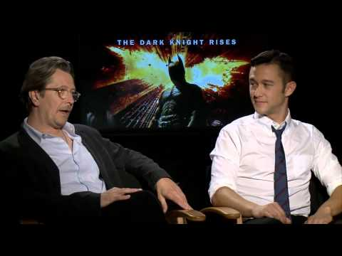 Gary Oldman & Joseph Gordon-Levitt Talk 'The Dark Knight Rises'