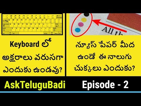 AskTeluguBadi Episode-2 Interesting Questions and Answers | Telugu Badi