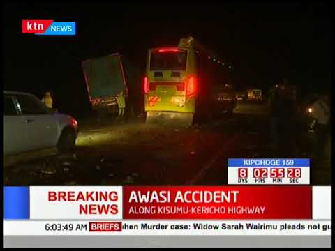 13 PEOPLE KILLED IN ROAD ACCIDENT ALONG KISUMU-KERICHO HIGHWAY