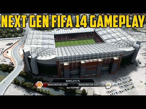 Next Gen FIFA 14 Gameplay - ManUtd vs ManCity + Review [Xbox One]