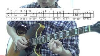■TAB譜付解説■Ken Yokoyama 横山 健- Empty Promisesのギターソロ