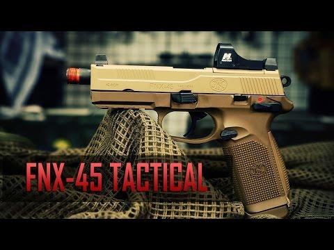 FNX-45 TACTICAL GBB Pistol SNEAK PEEK - Airsoft GI