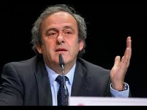 Platini:  I asked Blatter to stand down as Fifa president