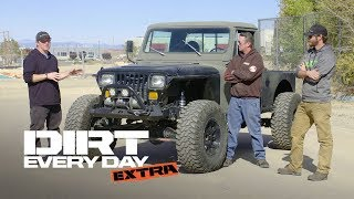 A Custom Diesel Jeep CJ10! - Dirt Every Day Extra