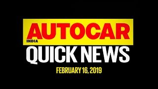 XUV300 price, New Corolla in 2020, Star City Kargil Edition & more | Quick News | Autocar India