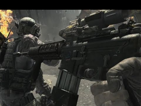 Call of Duty: MODERN WARFARE 3 - MW3 official trailer analysis/breakdown - NEW guns!