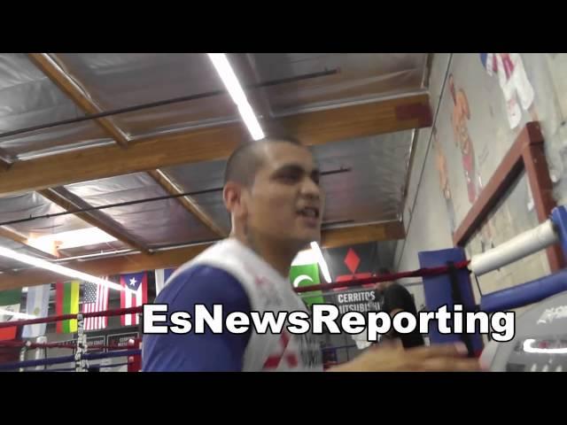 fabian maidana says chino KOs manny pacquiao in 6 EsNews boxing
