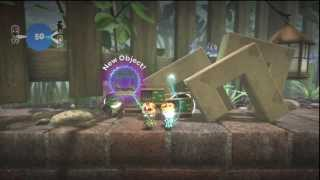 LittleBigPlanet 1: Moon God Glitch