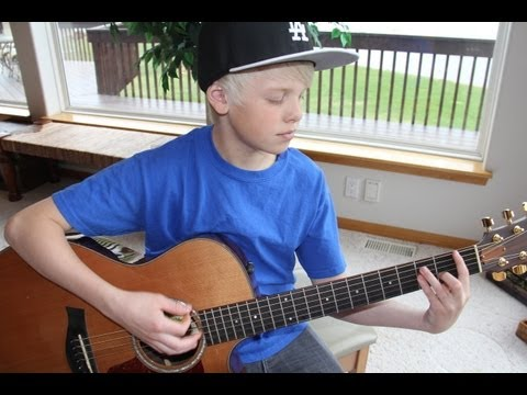 Austin Mahone - Say You're Just A Friend ft. Flo Rida (cover by Carson Lueders)