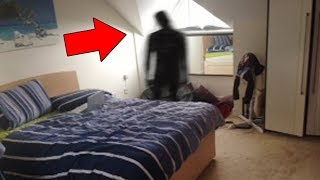 5 Scary Things Caught On Camera : SHADOW PEOPLE
