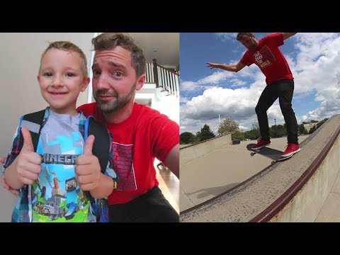 ADIML 58: First Day Of School & Skateboarding!