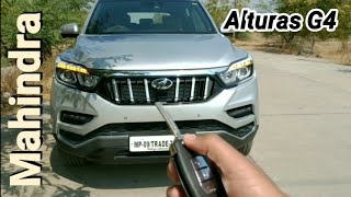 "Mahindra Alturas G4 ""The new Rexton"" Drive Review (Safest SUV of India)"