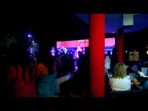 Claudio Golinelli ''IL gallo'' live XXL Beach-Villanova(Br) -17.08.14-