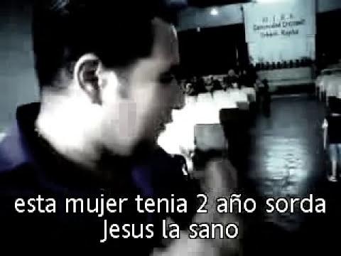 MILAGROS IMPRESIONANTES ELLA TENIA 2 AÑOS COMPLETAMENTE SORDA JESUS LA SANO  PASTOR LUHYI GARCIA