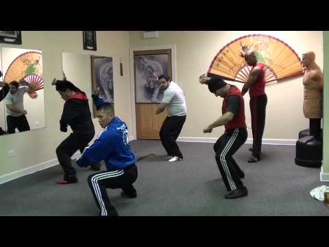 Cardio Kung Fu Training - This is NOT Cardio Kickboxing Image 1